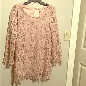 Rose Gold Lace Dress